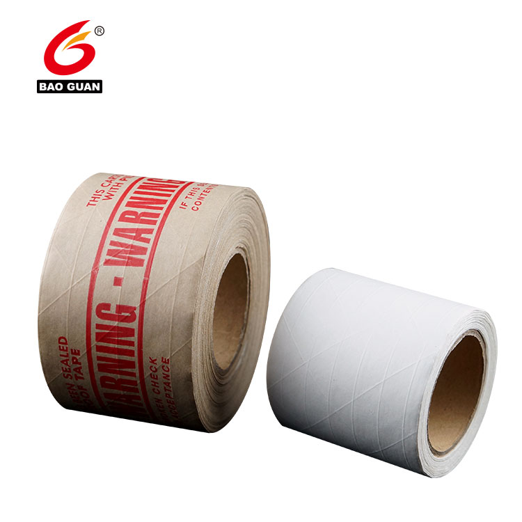 Water Activate Kraft Paper Tape